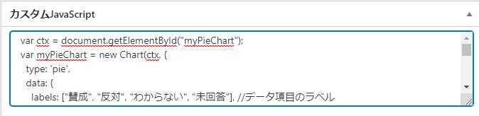 カスタムJavaScript